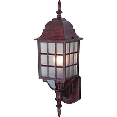 Details About Artesian Bronze Outdoor Patio/Porch Exterior Light Fixture  *15yr. Wty* #46 1350