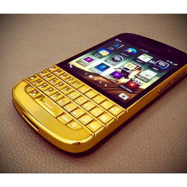BlackBerry Q10 Smart Phone | Gold