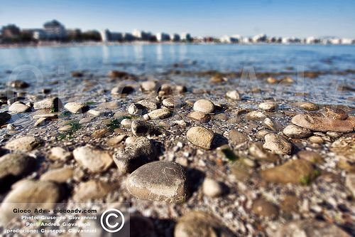 Tilt Shift Photo - BEST PLACES TO VISIT IN ITALY - ROMAGNA - CATTOLICA - Spiaggia Sud