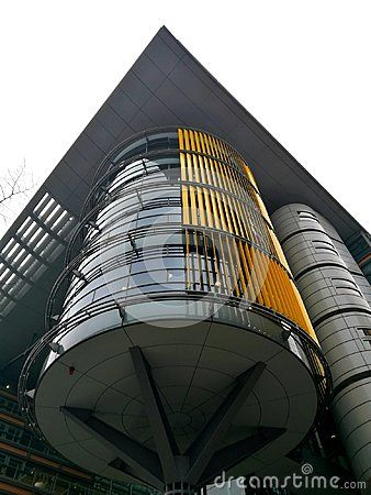 Building by Richard Rogers in Potsdamer Plats
