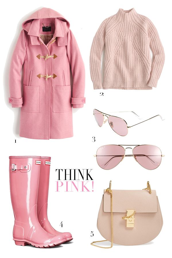 Think Pink! ~ favourite fashionable things in pink ~ Valentine's Day gift ideas