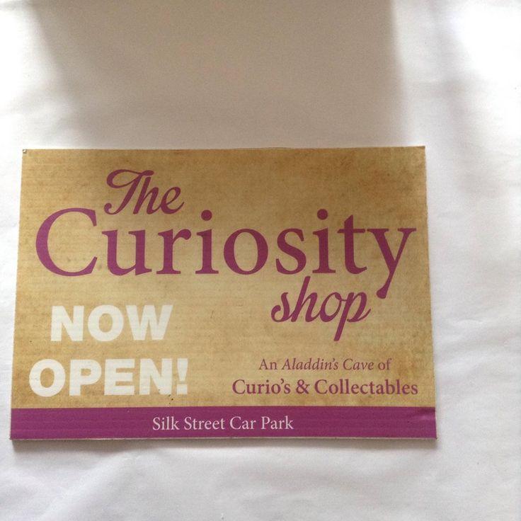 The Curiosity Shop - Silk Street Car Park