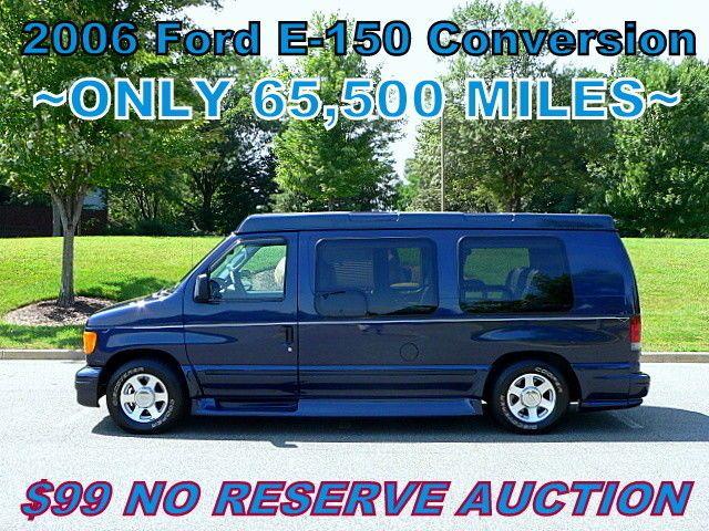 2006 Ford E Series Van E 150 Low Profile High Top Conversion Van