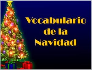 Christmas Vocabulary in Spanish by AnneK - Free Power Point available for download at Confessiones y Realidades.