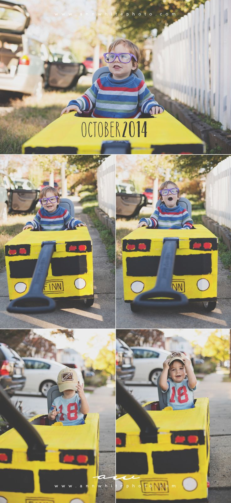 finns diy radio flyer school bus costume for halloween - Kids Halloween Radio