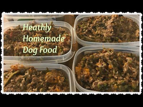 Youtube Dog Food Recipes Homemade Dog Food Make Dog Food