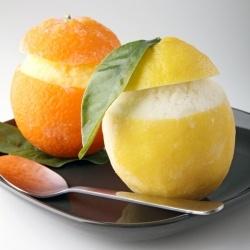 Italian Ice and Lemon Sorbet