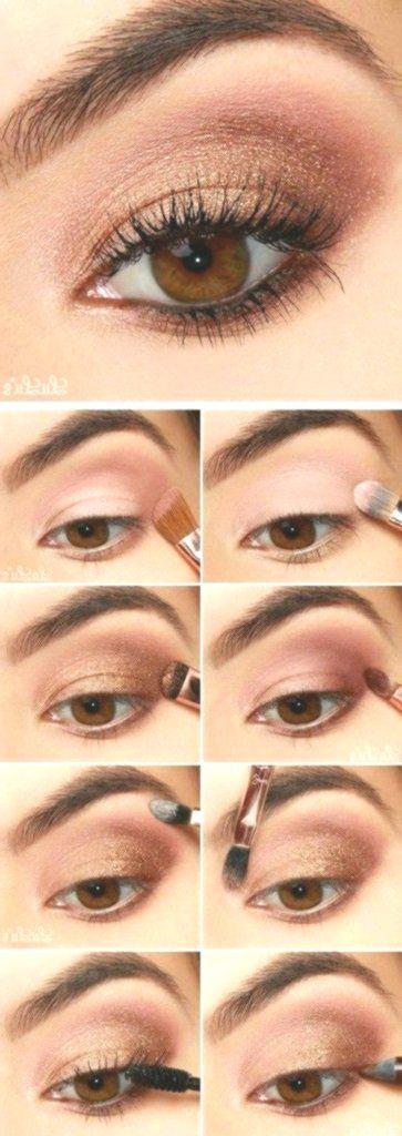Anleitung: Rose Gold Eyeshadow Tutorial #Makeup #Makeuptips #Makeuphacks #Haar #Love …