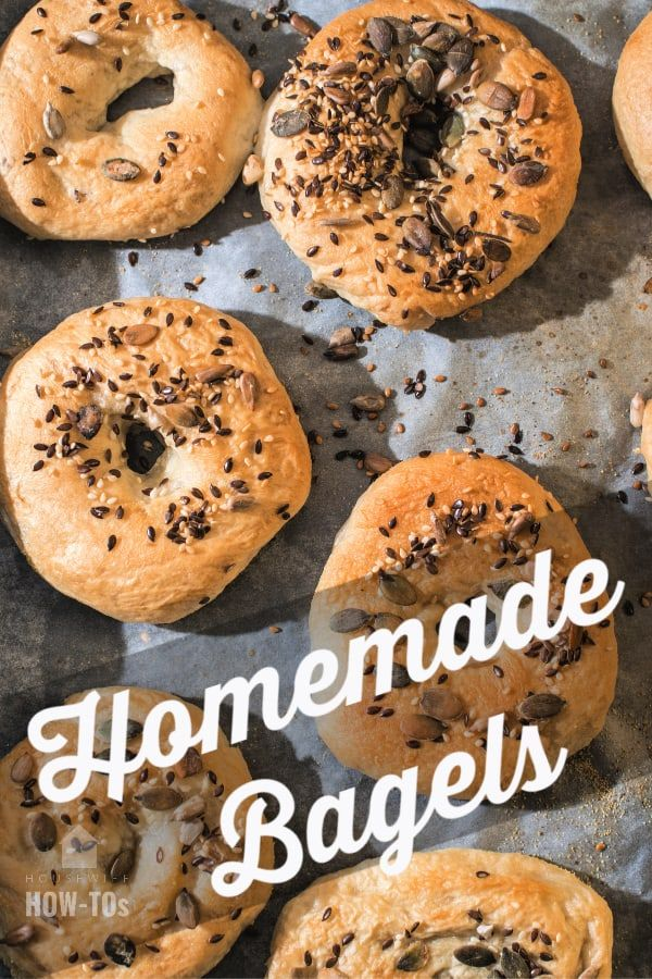 Homemade Bagels Recipe Plain Or Flavored In 2020 Homemade Bagels Bagel Recipe Recipes