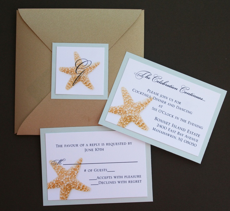 starfish wedding invitations 17 best 25 anniversario