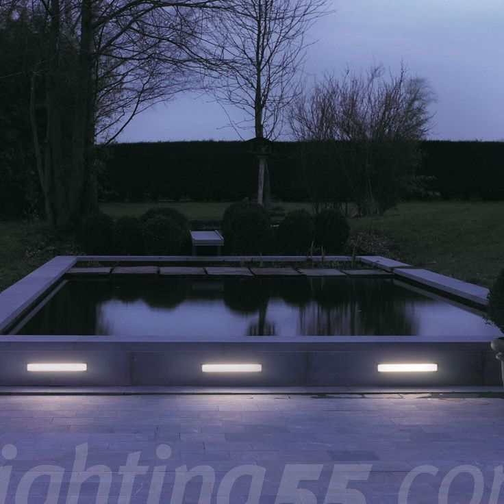 Femtoline 145 Outdoor Recessed Wall Light By Delta Light #modern  #outdoorlighting #lighting