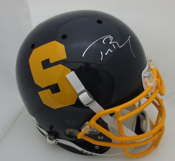Tom Brady Signed Serra High School Helmet from Powers Autographs - back in stock!  http://www.powersautographs.com/tom-brady-signed-serra-high-school-autographed-football-helmet-tristar-coa-p-100056516.html#.Up-iuuI4zgx