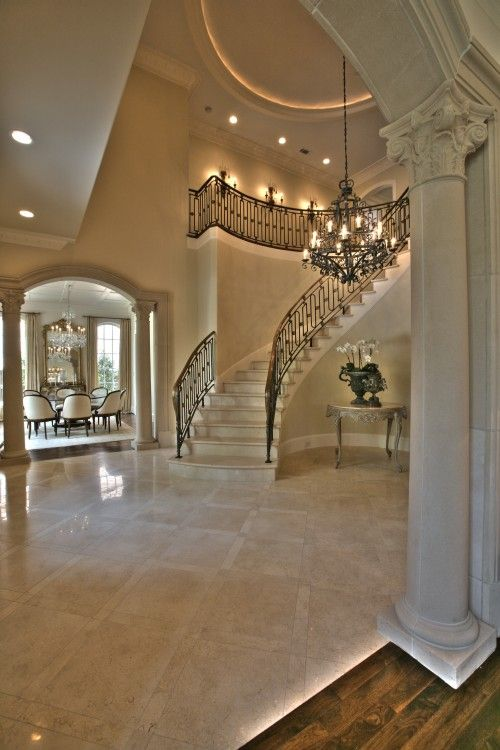 Staircase is not possible in FL home but ooooooooh that tile is!!!!!