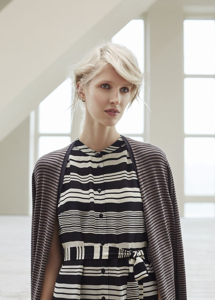 Spring Drumming | New Collection | Photography | Striped | Dress
