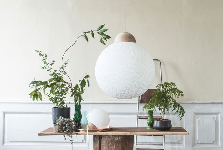 Tine Mouritsen's The Yarn Bomb lamp tinemouritsen.dk