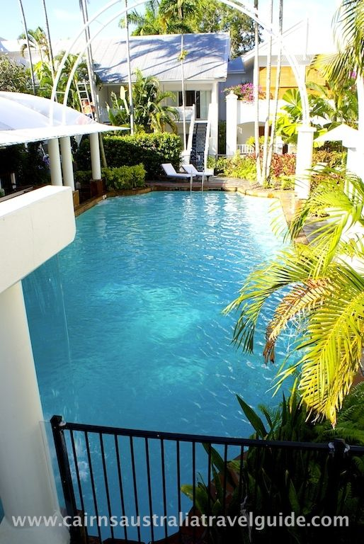 Resort pool at the Reef House, Palm Cove, Queensland.
