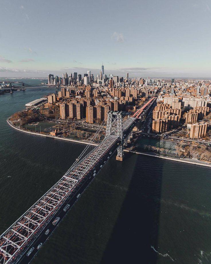 Manhattan To New York City: City, Manhattan Skyline, New York