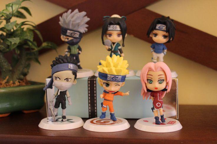 Naruto Shippuden Birthday Cake Figures