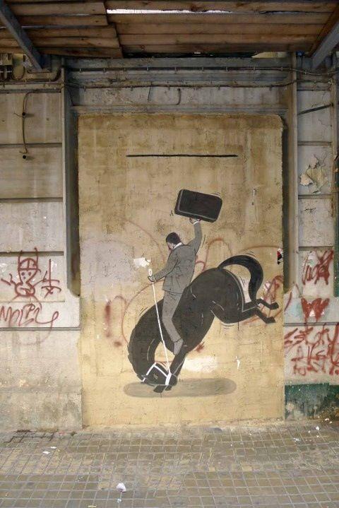 Escif in Spain #escif #streetart