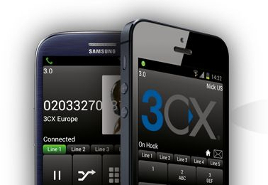 3CXPhone Softphone App for Android and iPhone http://jomar.cc/3cxphone