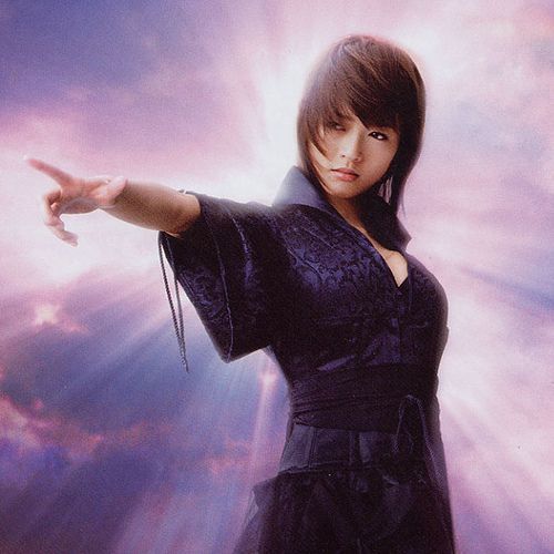 やさしいアメブロカスタマイズ!と女性タレント画像-釈由美子