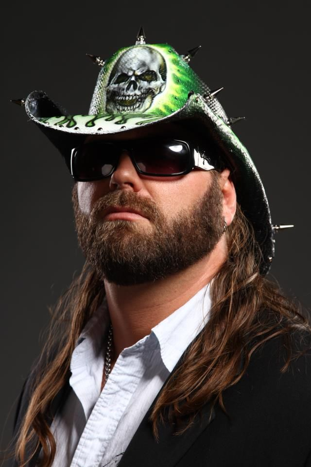 TNA WRESTLER COWBOY JAMES STORM, WEARING A AMERICAN MADE OUTLAW CUSTOM MADE COWBOY HAT!! www.americanmadeo.com