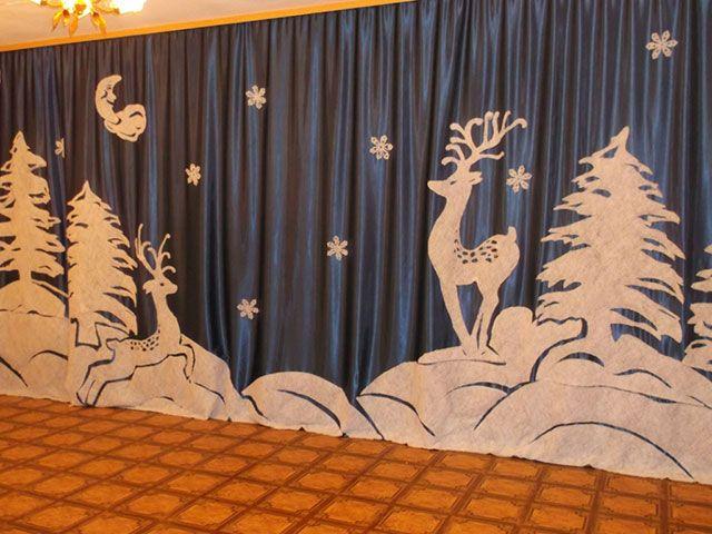 новогодние декорации в детском саду: 25 тыс изображений найдено в…
