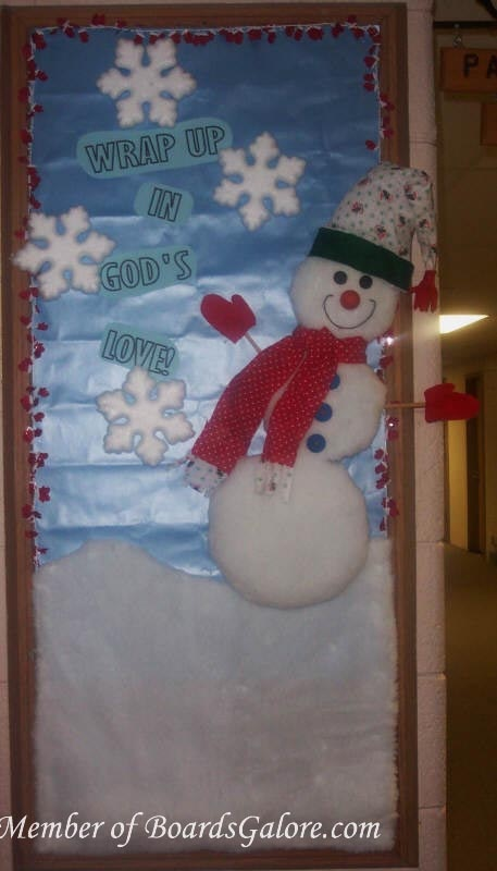 I love that there is someone out there coming up with classroom displays that include God and his word.