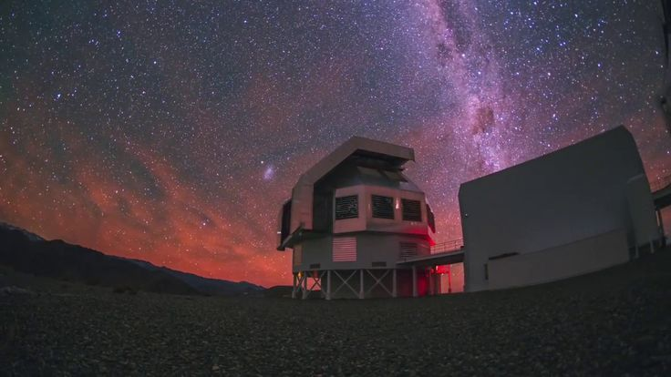 An Active Night over the Magellan Telelscopes