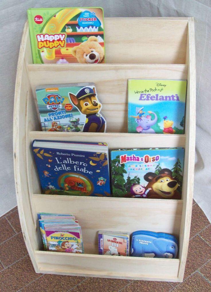 44 best libreria montessoriana da parete images on pinterest for Mobili montessori