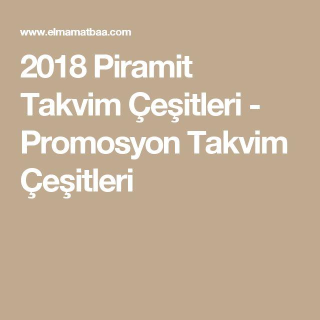 2018 Piramit Takvim Çeşitleri - Promosyon Takvim Çeşitleri