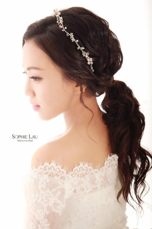 e64a2dba7bc29c0a99183ce6756ee3c9  korean wedding hair asian bridal hair - Asian Wedding Upstyles