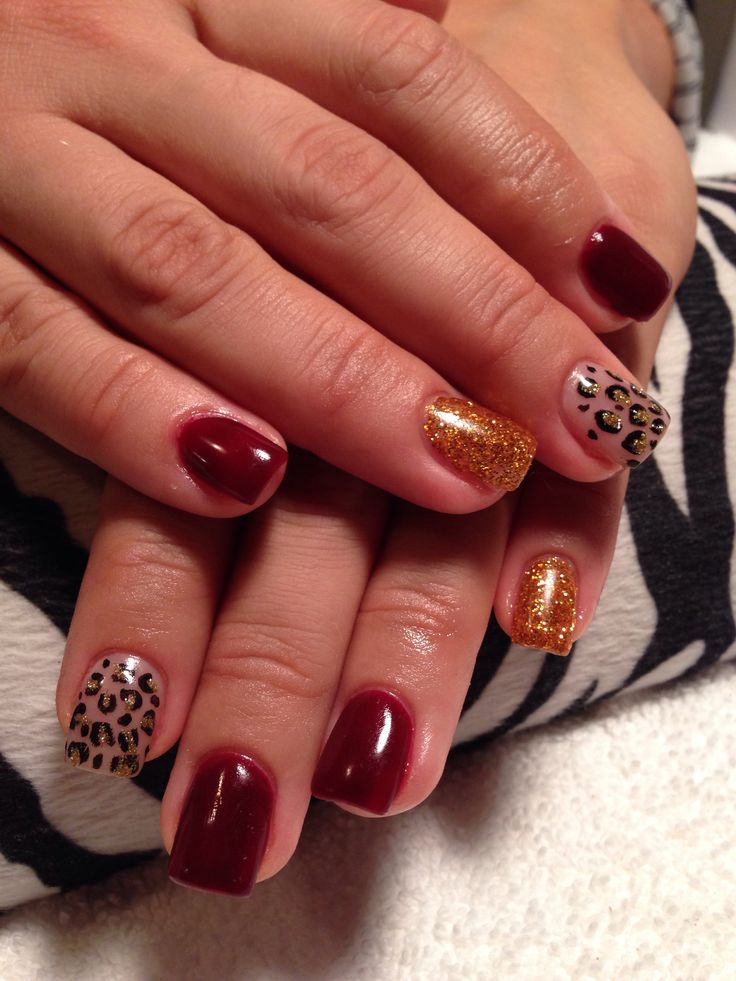 7 best fall colors for gel nails images on Pinterest | Gel nails ...