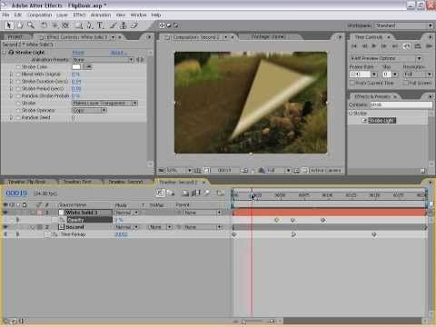After Effects Tutorial 16. Flip-Book Motion - YouTube