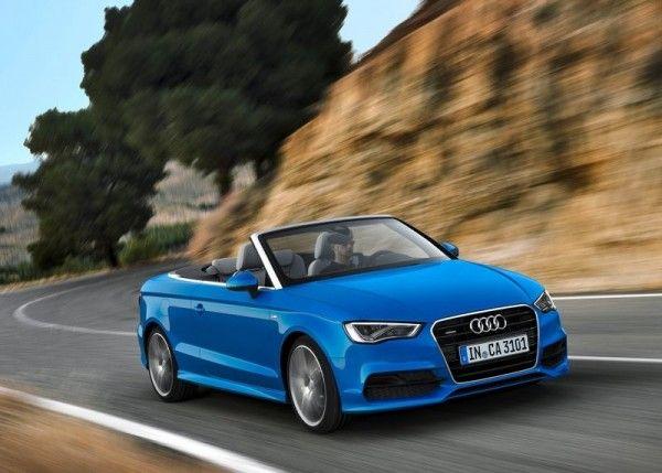 2014 Audi A3 Cabriolet Blue Wallpapers 600x429 2014 Audi A3 Cabriolet