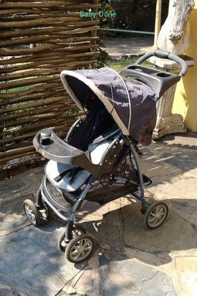 Pram for sale - Traveling-Prams-Gauteng, R350.00 - https://babydorie.co.za/second-hand-baby-prams/pram-for-sale-1.html