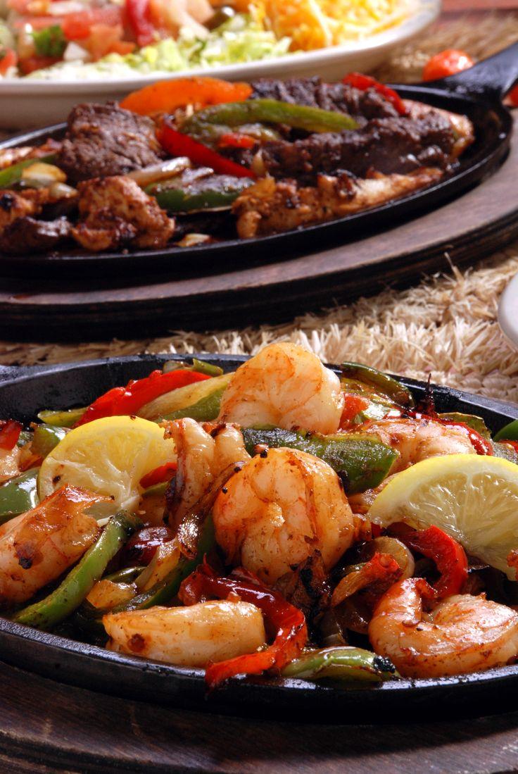 Steak & Shrimp Fajitas   Food for trailer-catering ...