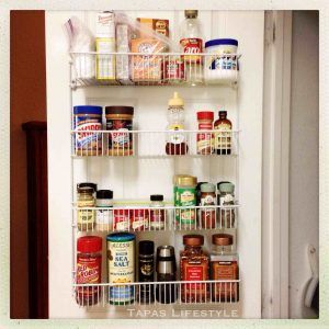 Over The Door Pantry Storage Racks