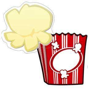Popcorn & Boxes Cut-Out Buddies