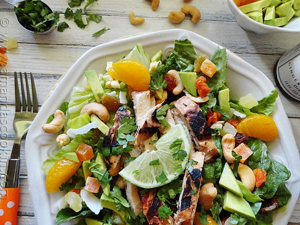 looks so refreshing, Key West Grilled Chicken Salad