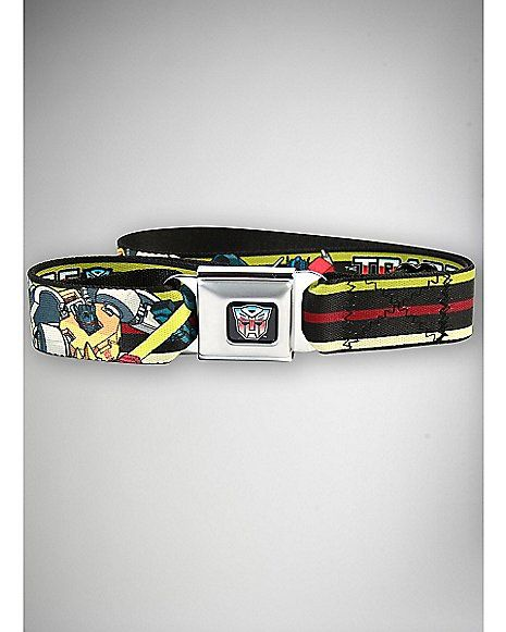 Transformers Characters Seatbelt - Spencer's