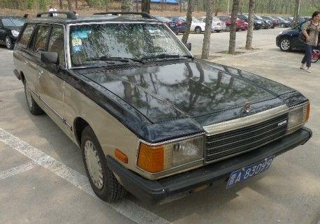 Haima HMC6470 (a Chinese-built Mazda 929 wagon)