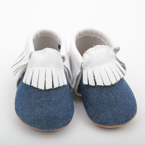Baby Moccasins - Unisex Baby Moccasins. Soft leather, kind to Developing Feet, Buy Online
