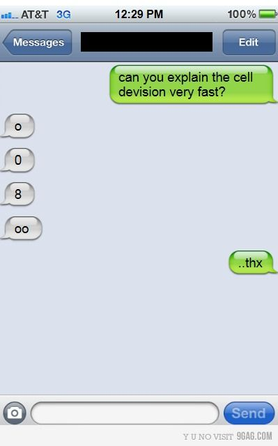 Ha. Internet Site, Nerd Jokes,  Website, Smarties Article, Funny Pictures, Cell Division, Web Site, Science Humor, Biology Humor
