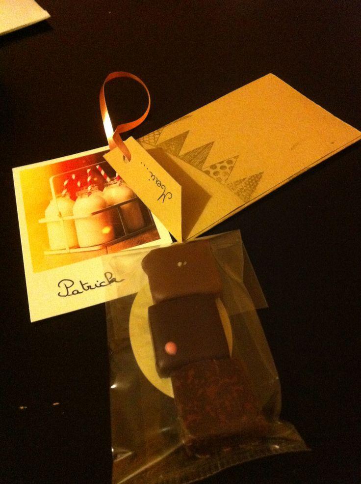 Cadeaux pour mes collaborateurs #fin de stage # chocolats Criollo #Toulouse