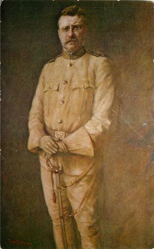 Theodore Roosevelt Portrait The Rough Rider