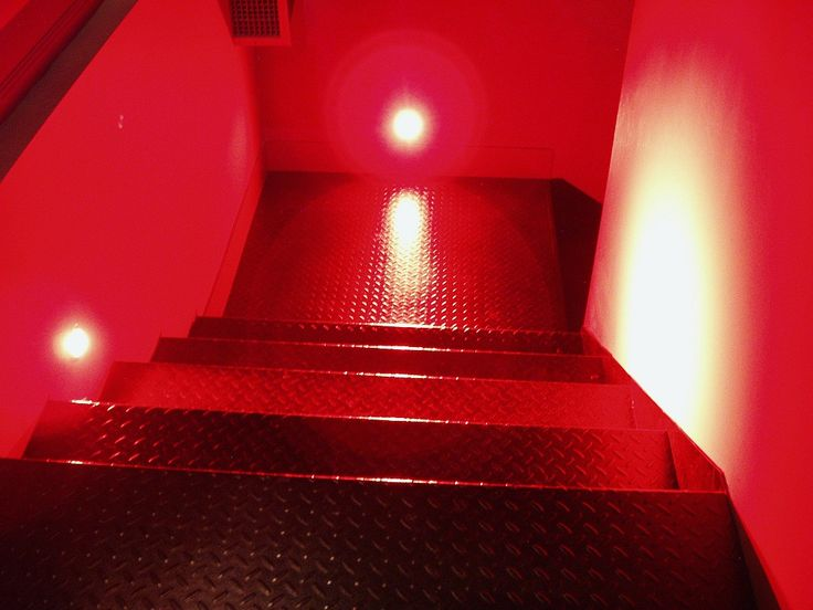 Red Stair Light