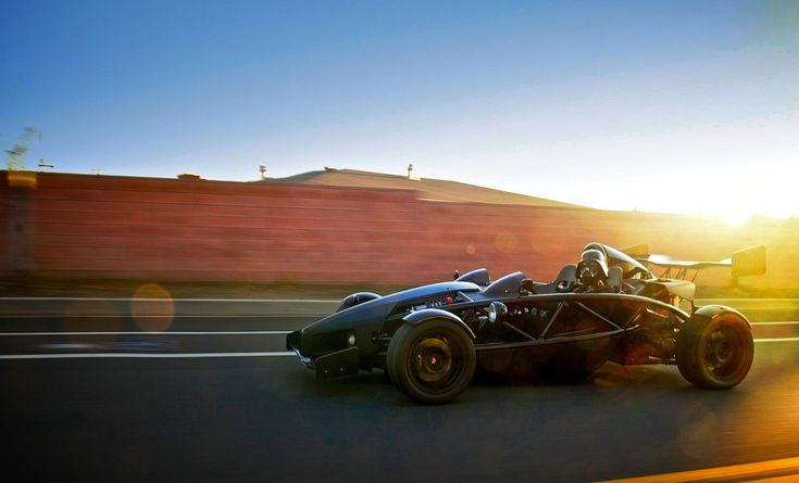 Darth Vader takes a test drive in his new company car