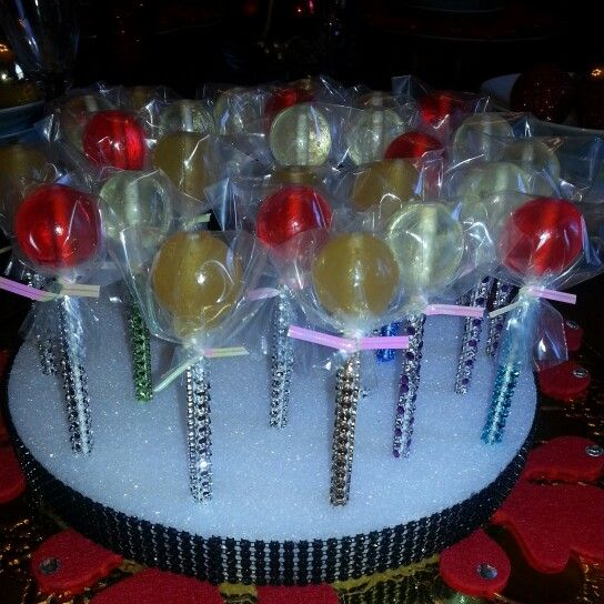 Ladies Night Out Lollies.  Apple Martini...Henny colada