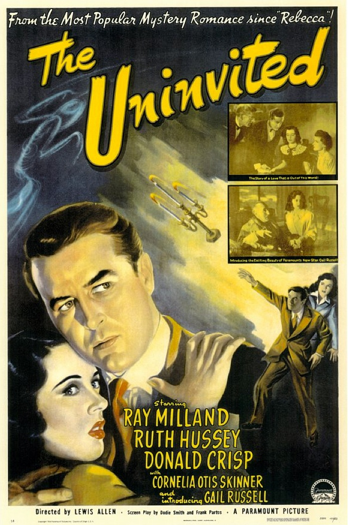 The Uninvited (1944) starring Ray Milland, Ruth Hussey & Donald Crisp